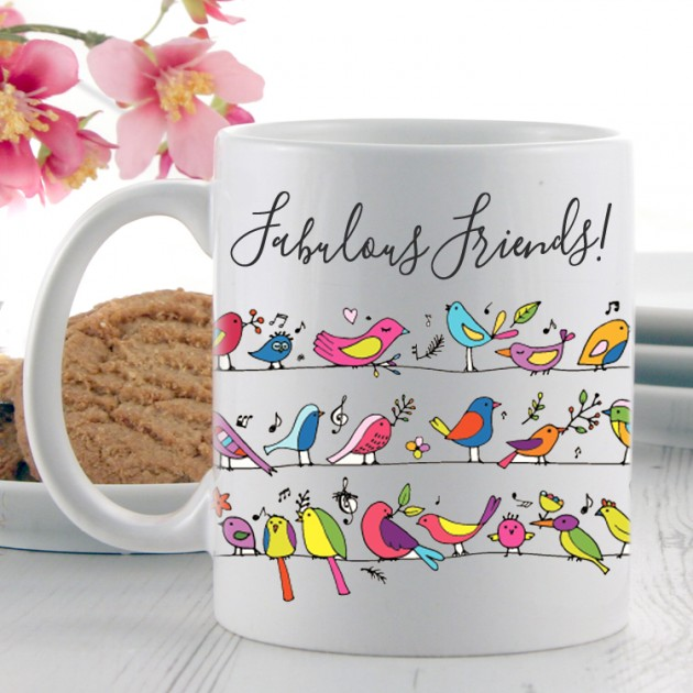 Hampers and Gifts to the UK - Send the Fabulous Friend Gift Mug