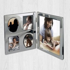 Hampers and Gifts to the UK - Send the Family Portrait Engraved Photo Frame