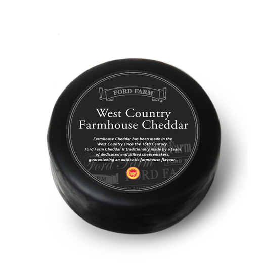 Hampers and Gifts to the UK - Send the Farmhouse Cheddar Cheese - 200g