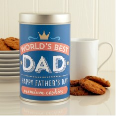 Hampers and Gifts to the UK - Send the Dad's Premium Cookies for Father's Day