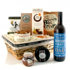 Hampers and Gifts to the UK - Send the Father's Day Sweet and Savoury with Wine
