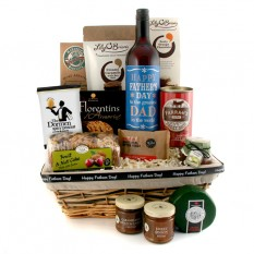 Hampers and Gifts to the UK - Send the Father's Day Wine and Treats Hamper