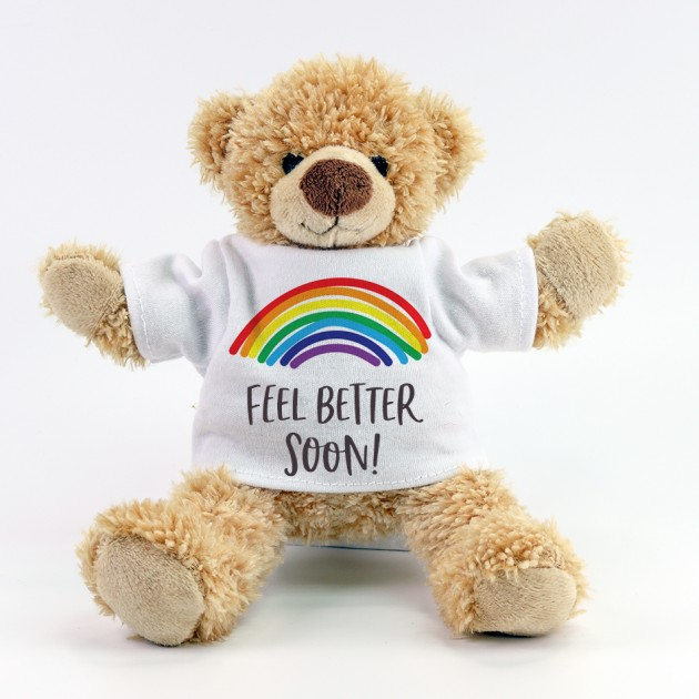 Hampers and Gifts to the UK - Send the Feel Better Soon Teddy Bear