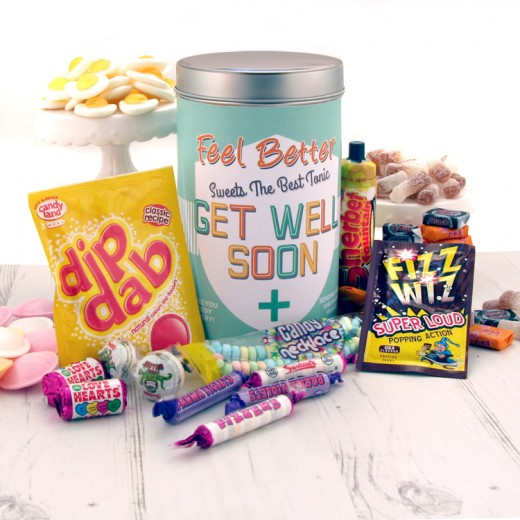 Hampers and Gifts to the UK - Send the Feel Better Sweets Tin