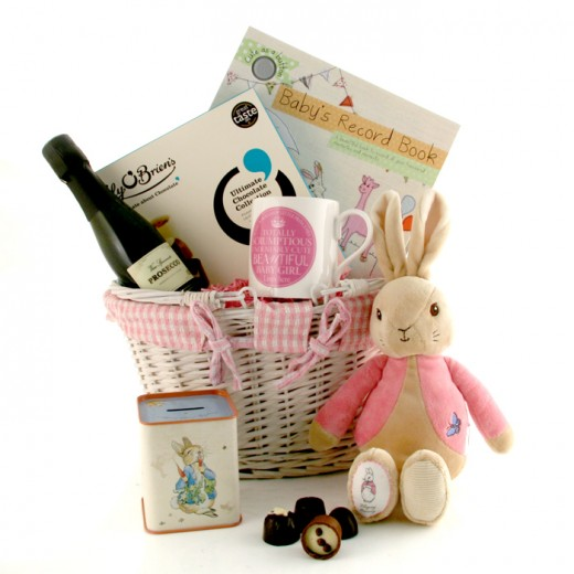 Hampers and Gifts to the UK - Send the Jemima Puddleduck Baby Gift Basket