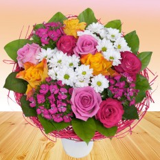 Hampers and Gifts to the UK - Send the Carnival Bouquet
