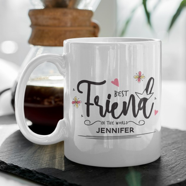 Hampers and Gifts to the UK - Send the Best Friend Mug Personalised