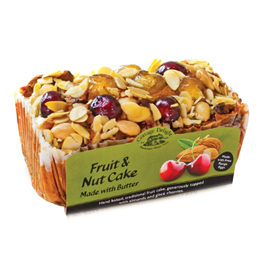 Hampers and Gifts to the UK - Send the Fruit and Nut Cake - 500g