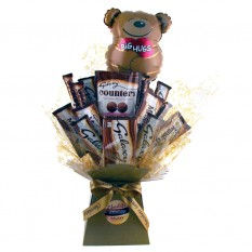 Hampers and Gifts to the UK - Send the Big Hugs Galaxy Chocolate Bouquet