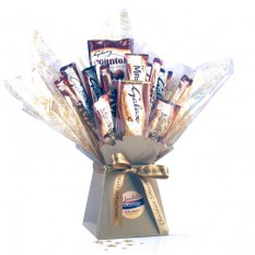 Hampers and Gifts to the UK - Send the Galaxy Chocolate Bouquet