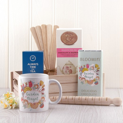Hampers and Gifts to the UK - Send the Garden Angel Gift Set