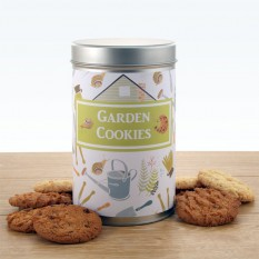 Gift In A Tin -  Garden Cookies