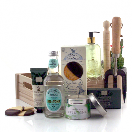Hampers and Gifts to the UK - Send the Gin & Tonic In The Garden