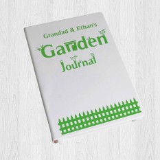 Any Name Garden Journal Hardback A5 Notebook