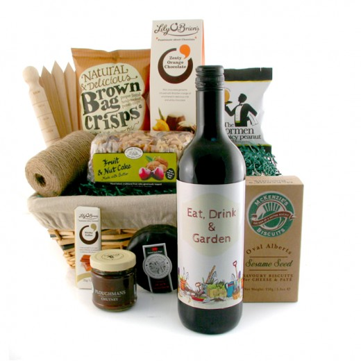 Hampers and Gifts to the UK - Send the Eat Drink and Garden Hamper