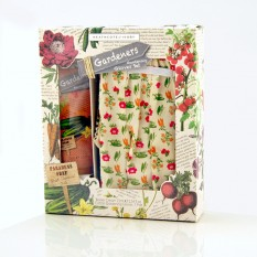 Hampers and Gifts to the UK - Send the Gardening Gloves Set with Barrier Cream