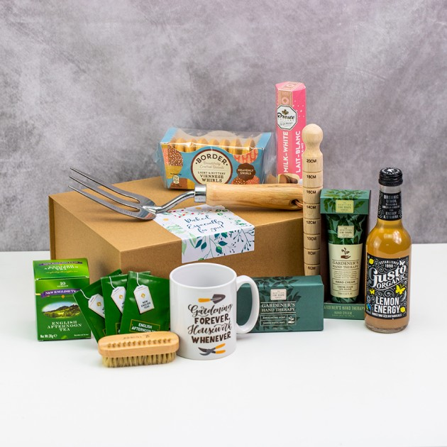 Hampers and Gifts to the UK - Send the Gardening Forever Housework Whenever Hamper