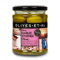 Hampers and Gifts to the UK - Send the Garlic Stuffed Olives by Olives Et Al