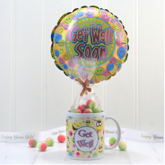 Hampers and Gifts to the UK - Send the Sweet Get Well Soon In A Mug