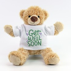 Hampers and Gifts to the UK - Send the Get Well Soon Teddy Bear