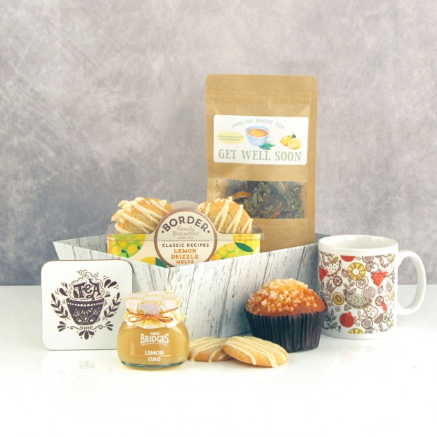 Hampers and Gifts to the UK - Send the Immune Boost Tea and Biscuits
