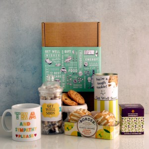 Hampers and Gifts to the UK - Send the Get Well Gifts