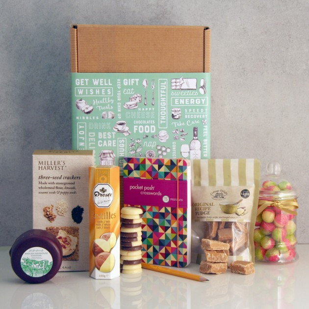 Hampers and Gifts to the UK - Send the Get Well Wishes