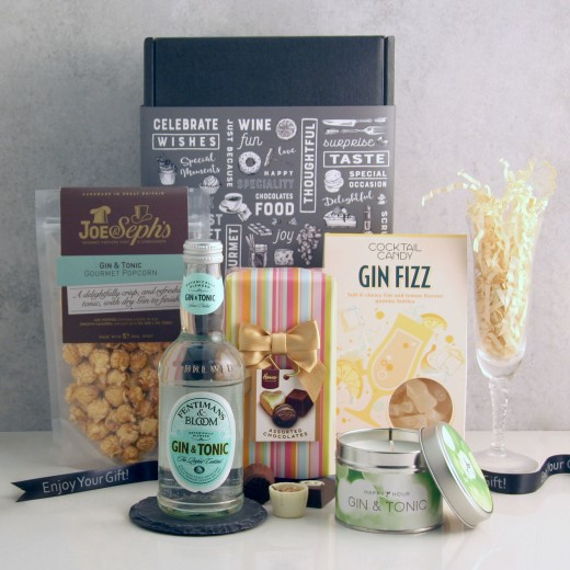Hampers and Gifts to the UK - Send the Gin Fizz Delights