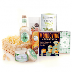 Hampers and Gifts to the UK - Send the Just What I Fancy Gin and Tonic Gift Basket