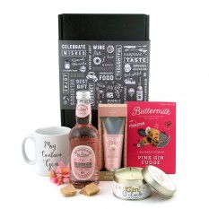 Hampers and Gifts to the UK - Send the Gin O'Clock La Paloma Pamper Hamper