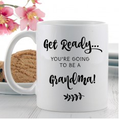 Hampers and Gifts to the UK - Send the You're Going to Be A Grandma Mug