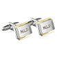 Hampers and Gifts to the UK - Send the Personalised Gold Plated Cufflinks