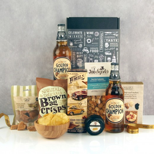 Hampers and Gifts to the UK - Send the A Champion's Celebration Hamper