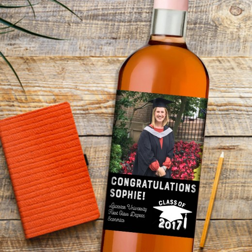 Hampers and Gifts to the UK - Send the Graduation Wine Gift - Photo Feature