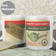 Hampers and Gifts to the UK - Send the Personalised Nostalgia Mug