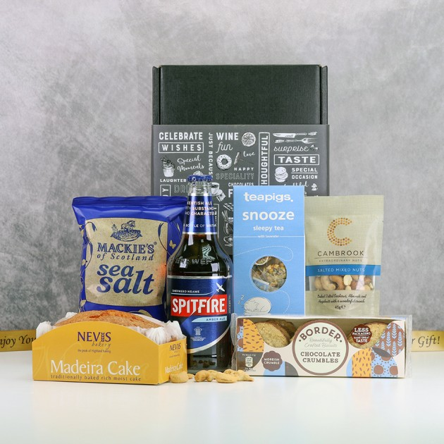 Hampers and Gifts to the UK - Send the Lazy Days Treat Hamper for Him