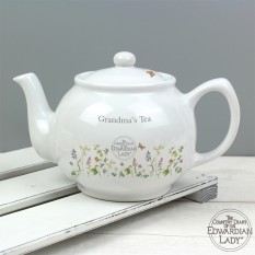 Hampers and Gifts to the UK - Send the Personalised Country Diary Floral Tea Pot