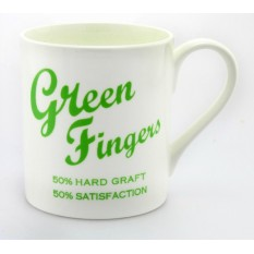 Green Fingers Porcelain Gift Mug