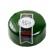 Hampers and Gifts to the UK - Send the Green Thunder Waxed Cheese - 100g