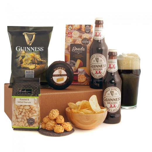Hampers and Gifts to the UK - Send the The Magic of Guinness Gift Box