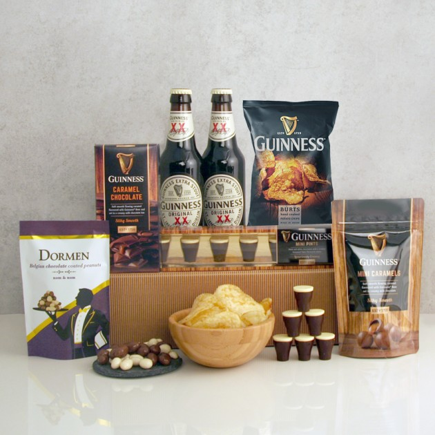 Hampers and Gifts to the UK - Send the Guinness Lover Sweet Treats Gift Box