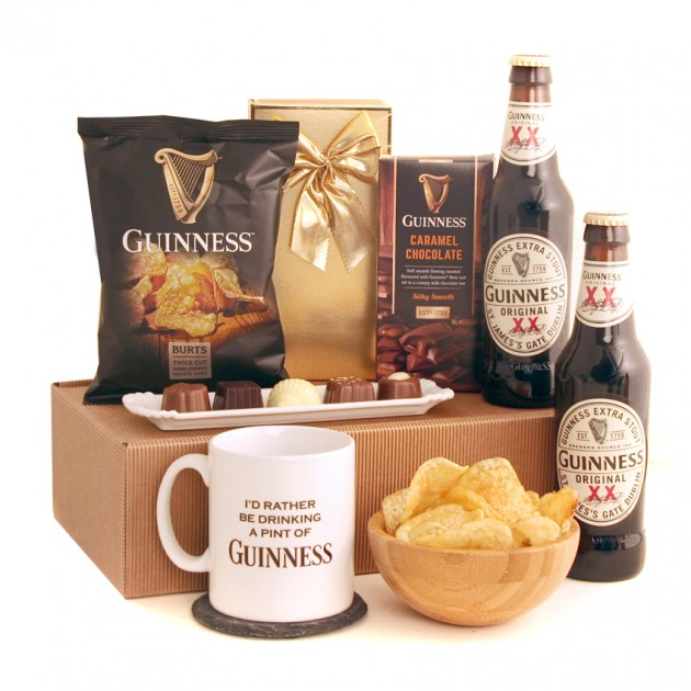 Hampers and Gifts to the UK - Send the I'd Rather Be Drinking Guinness Gift Box
