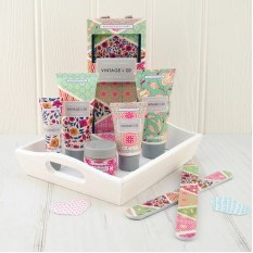 Hampers and Gifts to the UK - Send the Vintage & Co Top to Toe Gift Set