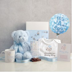 Hampers and Gifts to the UK - Send the Handsome Baby Boy Hamper