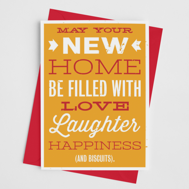 Hampers and Gifts to the UK - Send the New Home Happiness Card