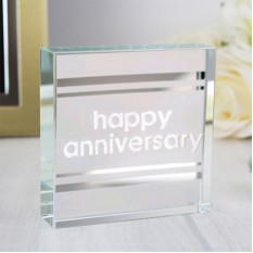 Hampers and Gifts to the UK - Send the Anniversary Classic Stripe Spaceform Token
