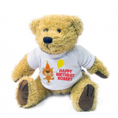 Hampers and Gifts to the UK - Send the Happy Birthday with Balloon Bear Personalised