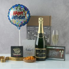 Hampers and Gifts to the UK - Send the Birthday Champagne Celebration