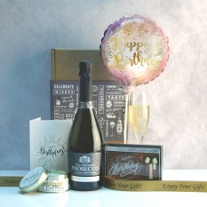 Hampers and Gifts to the UK - Send the Happy Birthday Chocolate Candles Celebration