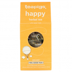 Hampers and Gifts to the UK - Send the Teapigs Happy Uplifting Tea